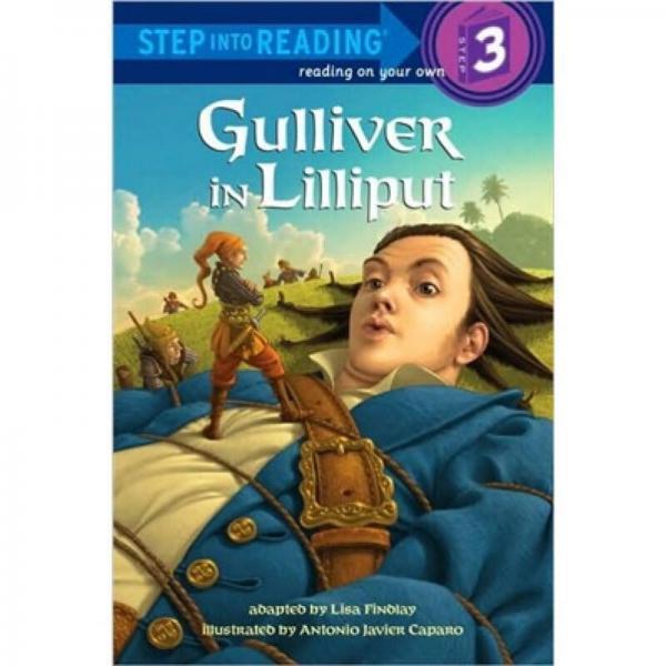 Gulliver in Lilliput格列弗游记 英文原版