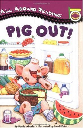 Pig Out! A Picture Reader with 24 Flash Cards