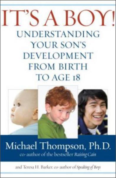 Its a Boy!  Understanding Your Sons Developmen