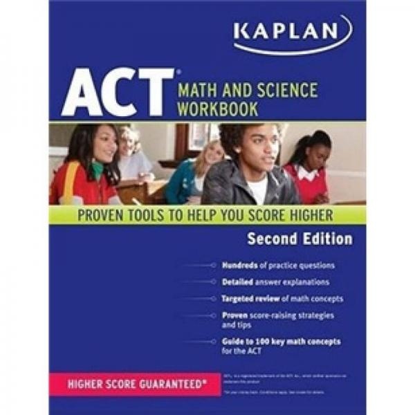 Kaplan ACT Math and Science Workbook