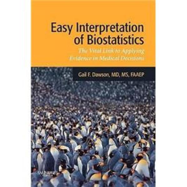 EasyInterpretationofBiostatistics轻松解读生物统计学