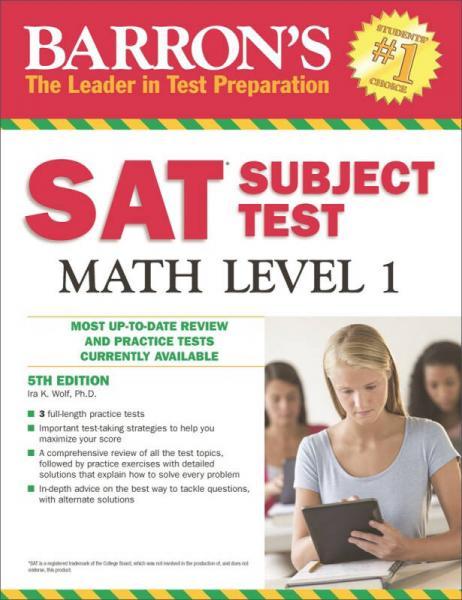 Barron's SAT Subject Test Math: Level 1 5th Revi