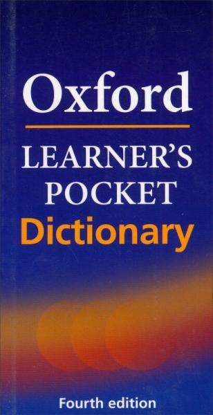 Oxford Learner's Pocket Dictionary牛津初级袖珍词典(第4版 软皮) 英文原版