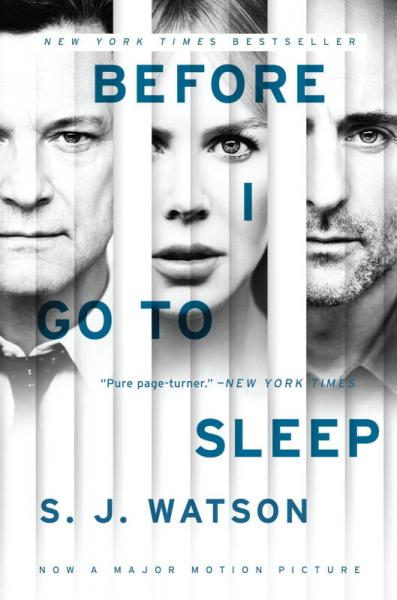 Before I Go To Sleep Movie Tie-in Edition
