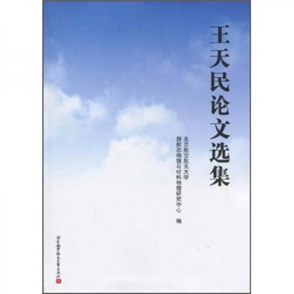 王天民论文选集