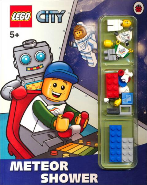 LEGO City: Meteor Shower Storybook with Minifigures and Accessories流星雨故事书及乐高砖块