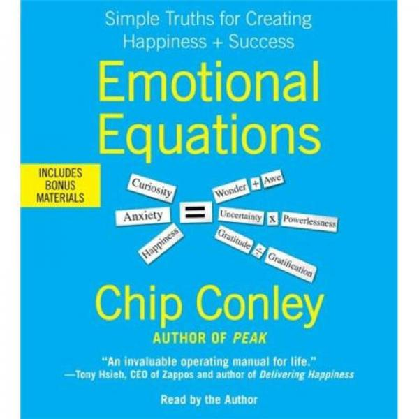 Emotional Equations [Audio CD]