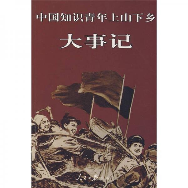 中国知识青年上山下乡大事记