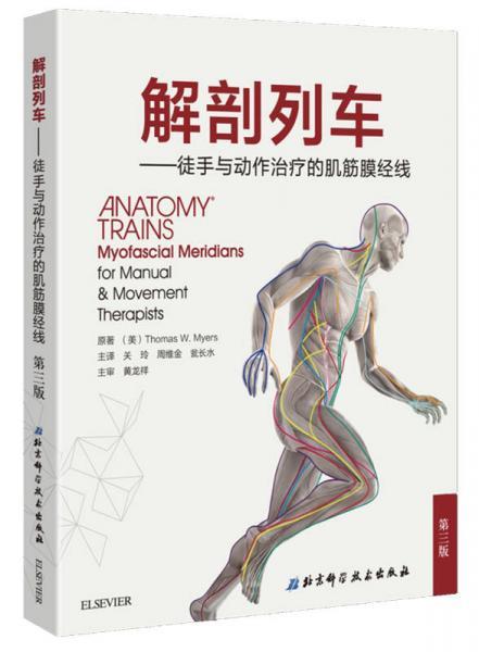 解剖列车:徒手与动作治疗的肌筋膜经线
