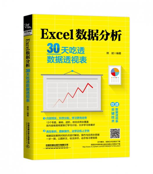 Excel数据分析:30天吃透数据透视表