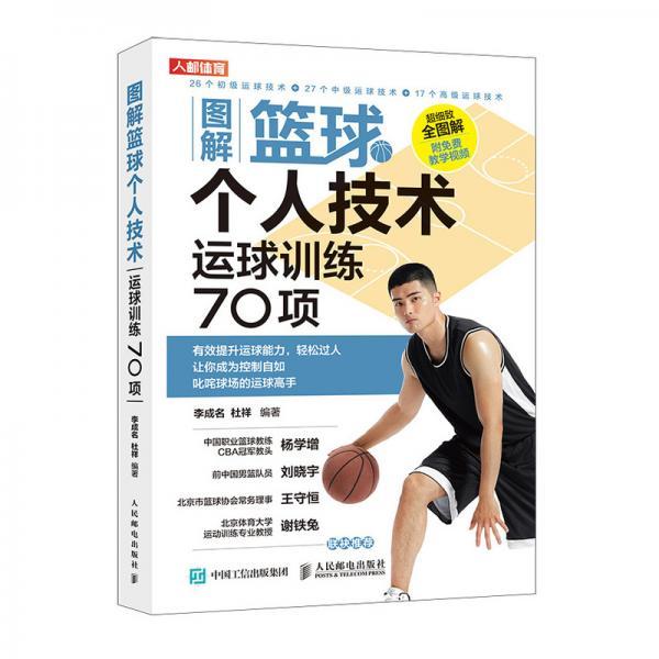 图解篮球个人技术运球训练70项