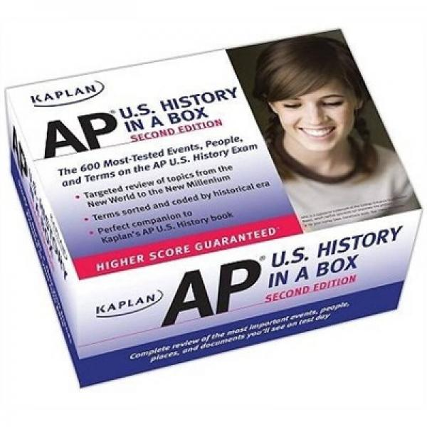 Kaplan AP U.S. History in a Box [Cards]