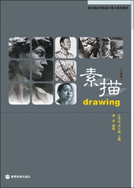 美术特色学校高中美术系列教材:素描(3年级)