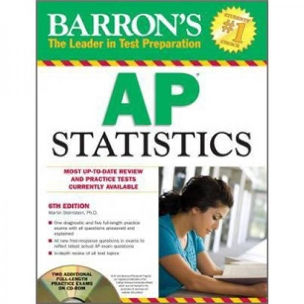 Barrons AP Statistics , 6th Edition