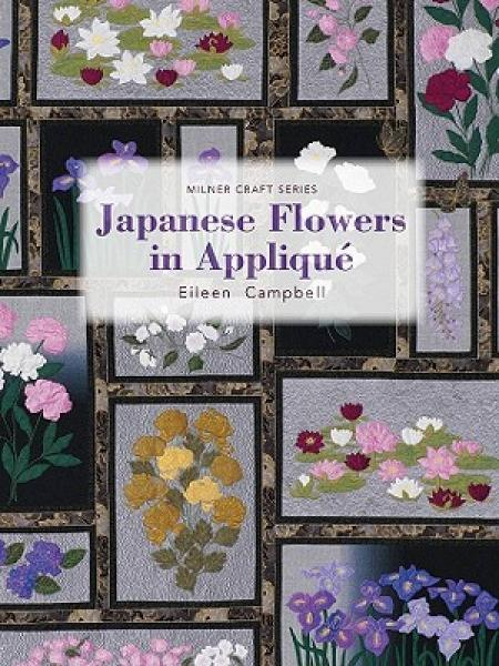 Japanese Flowers in Applique