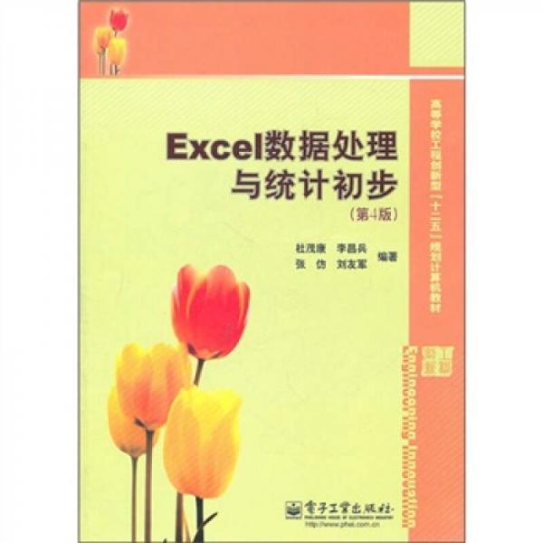 Excel数据处理与统计初步(第4版)