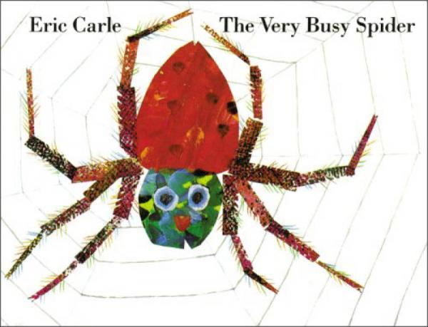The Very Busy Spider 非常忙的蜘蛛 英文原版