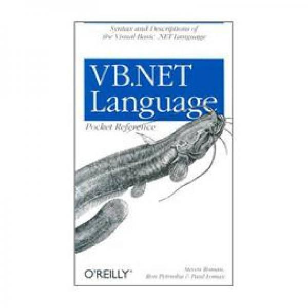 VB.NET Language Pocket Reference (Pocket Reference (OReilly))