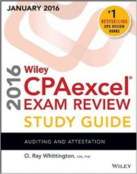 Wiley Cpaexcel Exam Review Study Guide January: Auditing And Attestation
