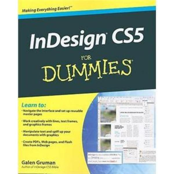 InDesignCS5ForDummies(ForDummies(Computer/Tech))