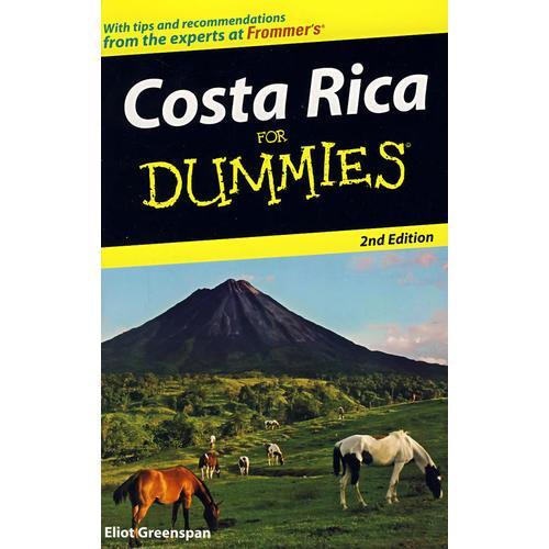 哥斯达黎加指南,第2版 Costa Rica For Dummies, 2nd Edition