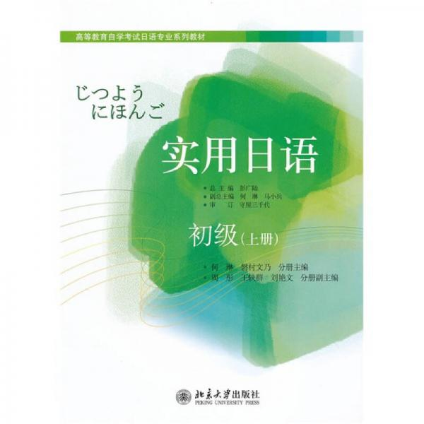 高等教育自学考试日语专业系列教材:实用日语(初级)(上册)