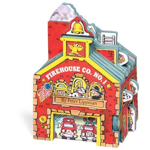 Mini House: Firehouse Co. No. 1 迷你屋系列:消防站(卡板书)