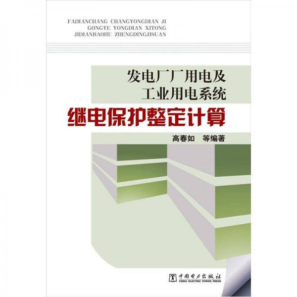 发电厂厂用电及工业用电系统:继电保护整定计算