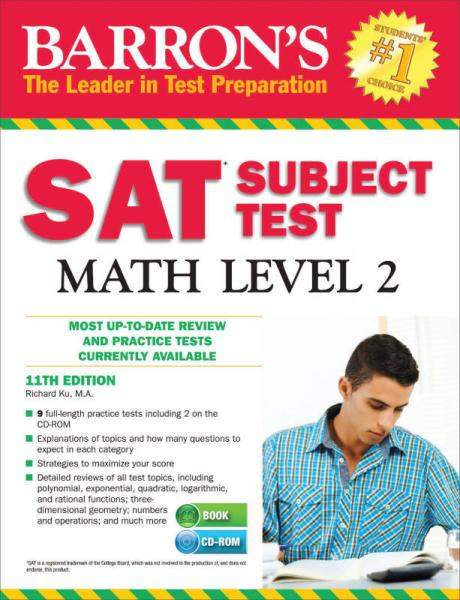 Barron's SAT Subject Test Math: Level 2 with CD