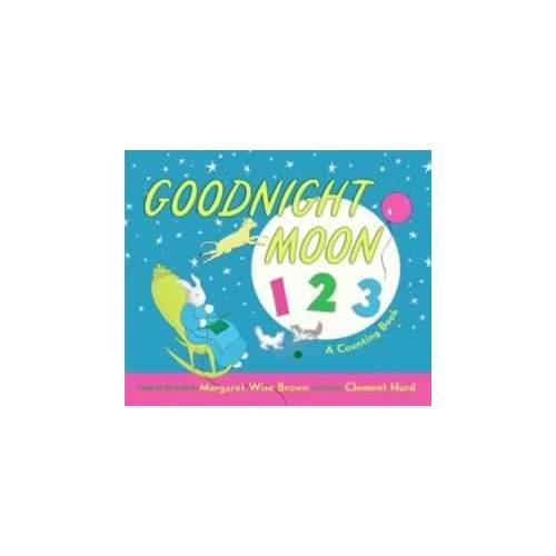 Goodnight Moon 123 Board Book 晚安月亮船(学数数卡板书)