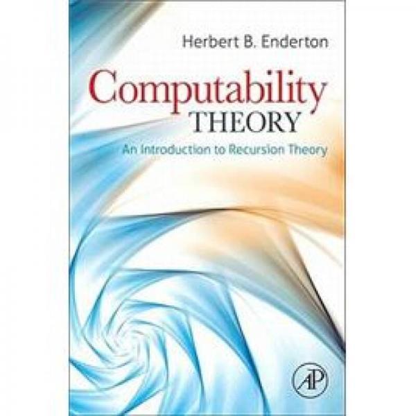 Computability Theory 可计算性理论:递进理论导论