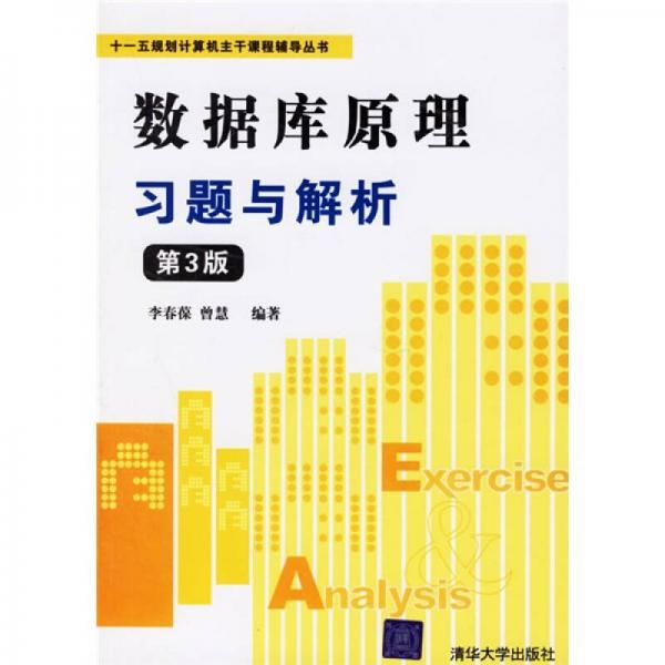 """""""十一五""""规划计算机主干课程辅导丛书:数据库原理习题与解析"""