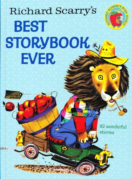 Richard Scarrys Best Storybook Ever!斯凯瑞:最棒的故事集 英文原版