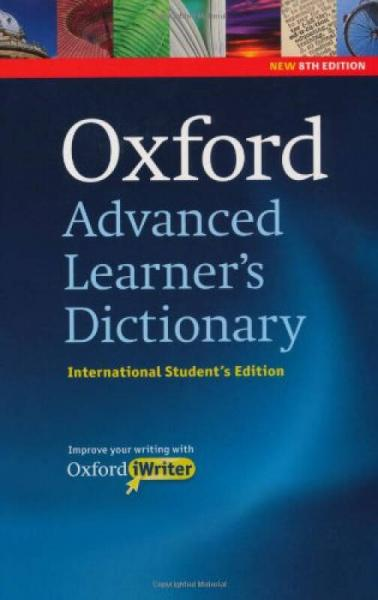 Oxford Advanced Learners Dictionary: International Students Edition牛津高阶英语词典,附光盘