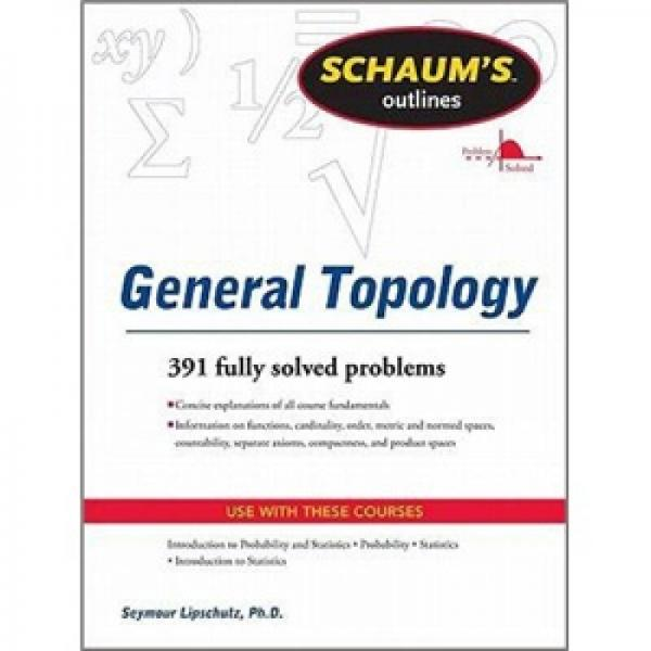 Schaums Outline of General Topology (Schaums Outline Series)