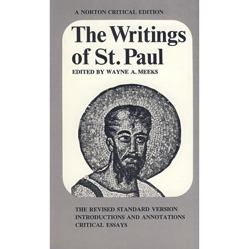 圣保罗文集(诺顿世界文学评论系列) Writings of St. Paul