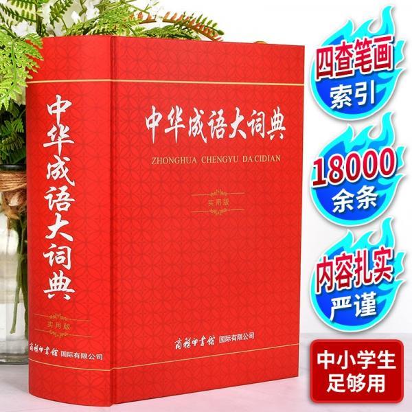 中华成语大词典实用版小学生多功能成语词典中小学生专用辞书工具书词典