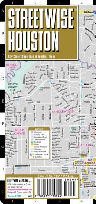 StreetwiseHoustonMap-LaminatedCityStreetMapofHouston,Texas