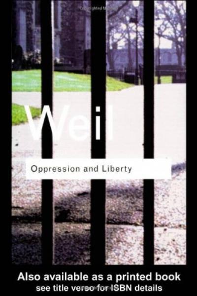 Oppression and Liberty (Routledge Classics)[压迫与自由]