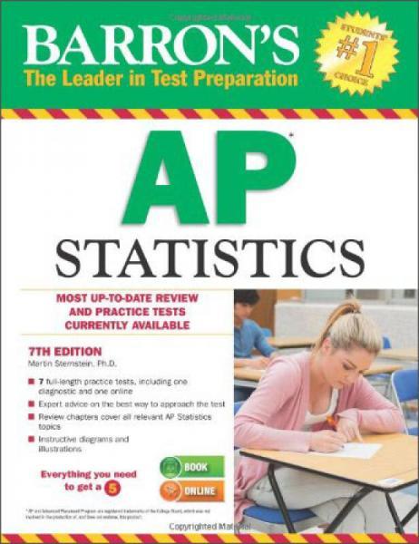 Barrons AP Statistics, 7th Edition
