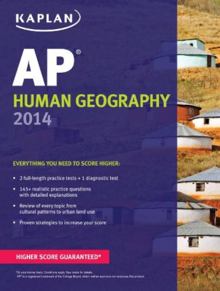 Kaplan AP Human Geography 2014 (Kaplan AP Series)