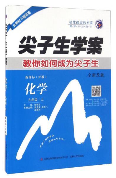 尖子生学案:化学(九年级上 新课标 沪教 全新改版)