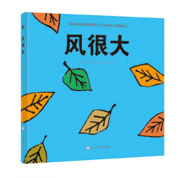 国家教育部推荐2-4岁幼儿启智图画书:风很大