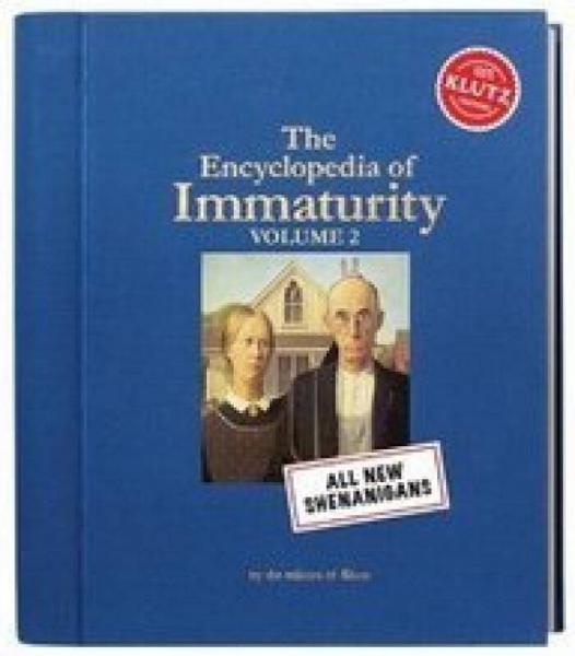 Encyclopedia Of Immaturity 2  脑洞百科全书2
