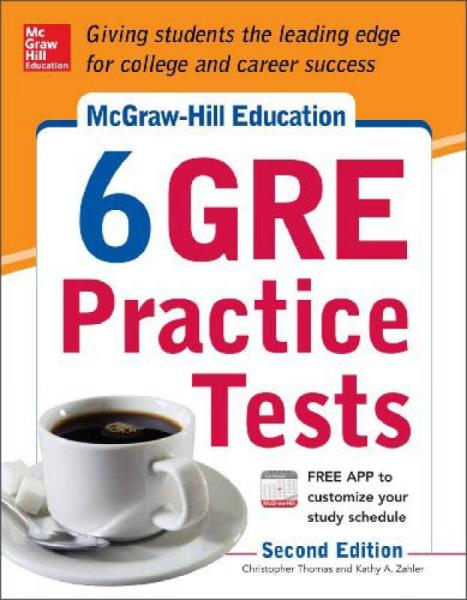 Mcgraw-HillS 6 Gre Practice Tests, 2Nd