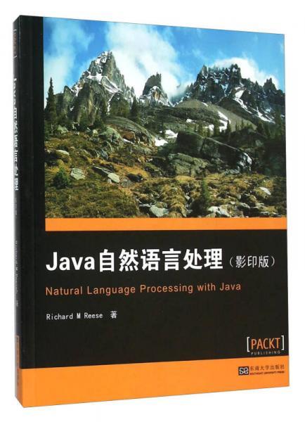 Java自然语言处理(影印版 英文版)