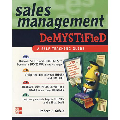 销售管理简介SALES MANAGEMENT DEMYSTIFIED