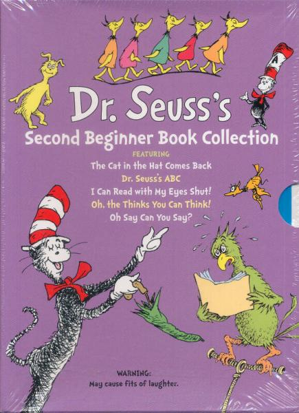 Dr. Seusss Second Beginner Book Collection
