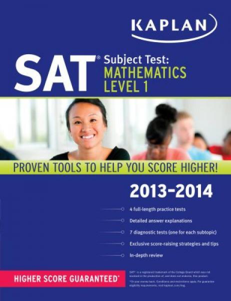 Kaplan SAT Subject Test Mathematics Level 1 2013-2014 (Kaplan SAT Subject Test Series)