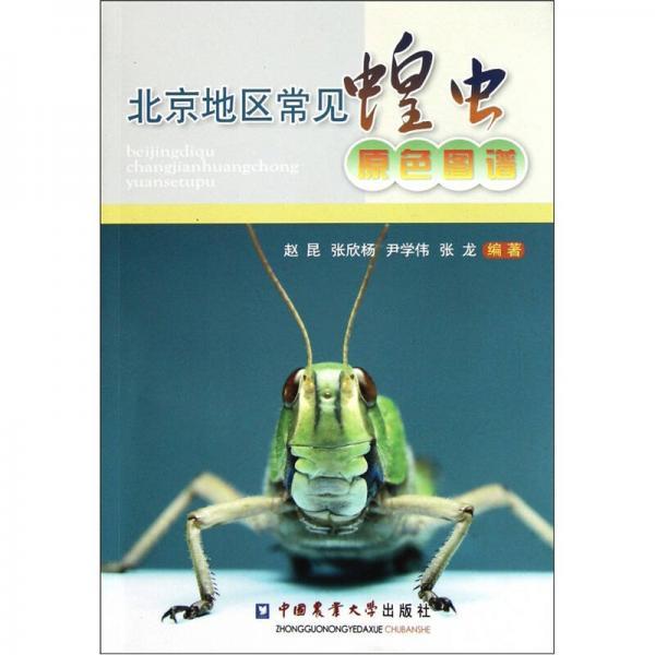 北京地区常见蝗虫原色图谱